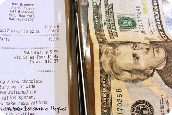¿Cuánto dinero me he gastado en Nueva York? Mi presupuesto para un viaje de 10 días