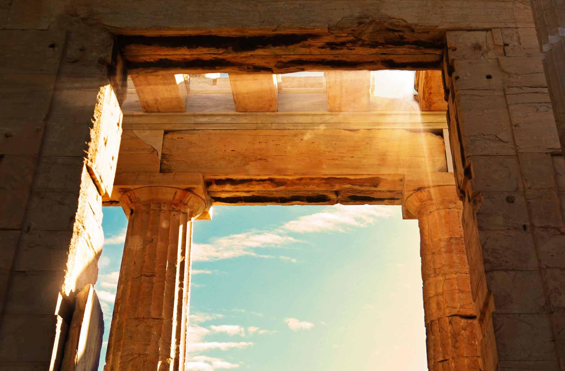 la acropolis de Atenas