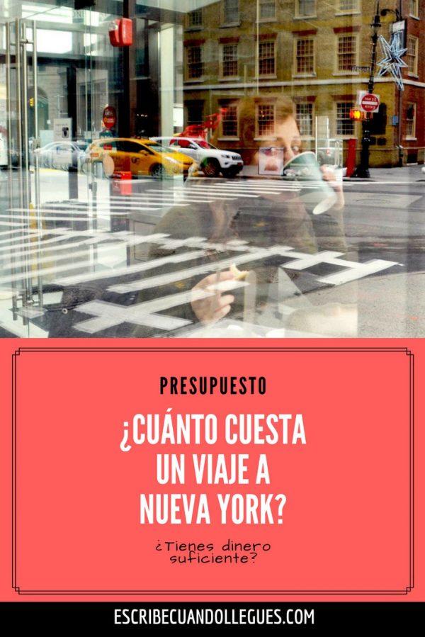 Presupuesto de un viaje a nueva york tengo dinero suficiente for Cuanto cuesta una habitacion en un hotel